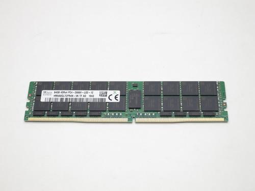 HMAA8GL7CPR4N-VK HYNIX 64GB DDR4 2666 LOAD REDUCED ECC REGISTERED 4Rx4 PC4-21300 SERVER MODULE