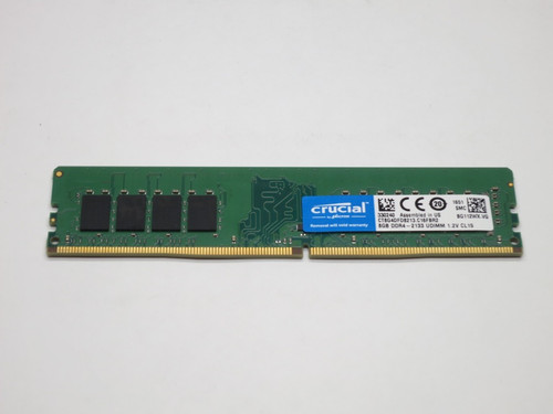 CT8G4DFD8213 CRUCIAL 8GB DDR4 2133 UDIMM 2Rx8 CL15 PC4-17000 1.2V 288-PIN SDRAM MODULE DESKTOP