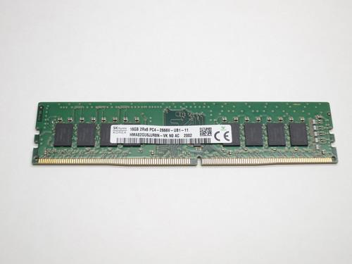 HMA82GU6AFR8N-VK HYNIX 16GB DDR4 2666 UDIMM 2Rx8 CL19 PC4-21300 1.2V 288-PIN SDRAM MODULE