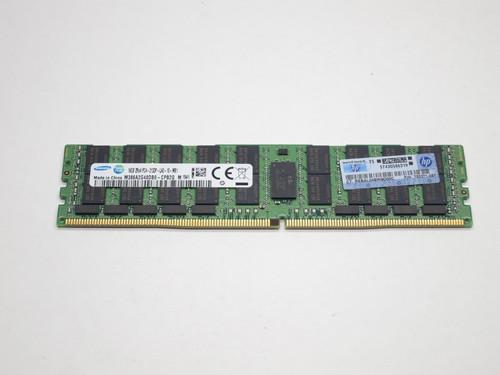 726720-B21 HP 16GB DDR4 2133 LRDIMM 2Rx4 CL15 PC4-17000 1.2V 288-PIN SDRAM MODULE