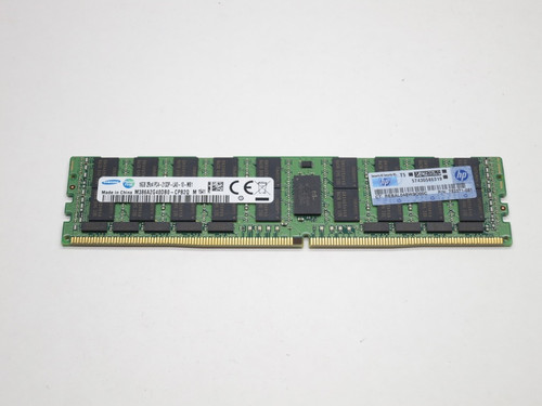 774173-001 HP 16GB DDR4 2133 LRDIMM 2Rx4 CL15 PC4-17000 1.2V 288-PIN SDRAM MODULE