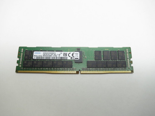 SAMSUNG 32GB DDR4 2666V RDIMM 2Rx4 CL19 PC4-21300 1.2V 288-PIN SDRAM MODULE