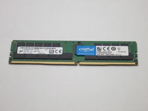 CT16G4RFD4266 CRUCIAL 16GB DDR4 2666 RDIMM 2Rx4 CL19 PC4-21300 1.2V 288-PIN SDRAM MODULE