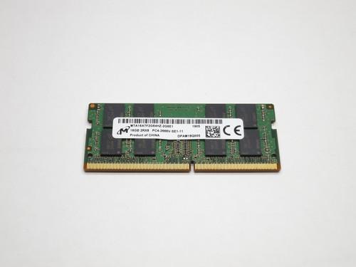 MTA16ATF2G64HZ-2G6E1 MICRON 16GB DDR4 2666 2Rx8 PC4-21300 SODIMM MODULE
