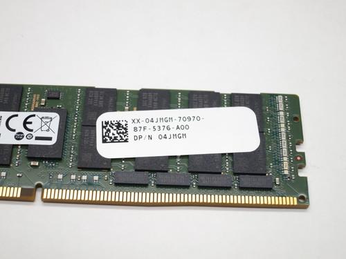 4JMGM DELL 64GB DDR4 2666 LRDIMM ECC REG 4Rx4 CL19 PC4-21300 1.2V 288-PIN SERVER MODULE