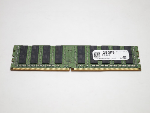 29GM8 DELL 64GB DDR4 2400 LRDIMM ECC REG 4Rx4 CL19 PC4-19200 1.2V 288-PIN SERVER MODULE SNP29GM8C/64G