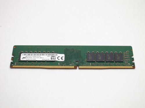 MTA16ATF1G64AZ-2G1A2 MICRON 8GB DDR4 2133 UDIMM 2Rx8 CL15 PC4-17000 1.2V 288-PIN MODULE - DESKTOP