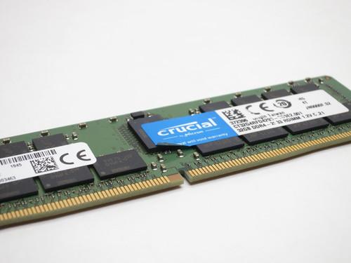 CT32G4RFD4293 CRUCIAL 32GB DDR4 2933 ECC REG 2Rx4 SERVER RAM MTA36ASF4G72PZ-2G9E2 REF