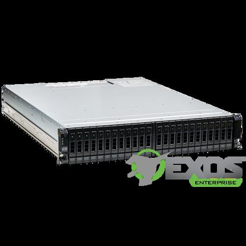 Seagate Exos X 2U24 - RAID System UP TO 24 HDD/SSD SYSTEM