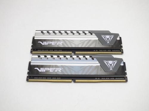 PATRIOT 32GB (2 x 16GB) DDR4 2400 UDIMM VIPER ELITE GRAY KIT