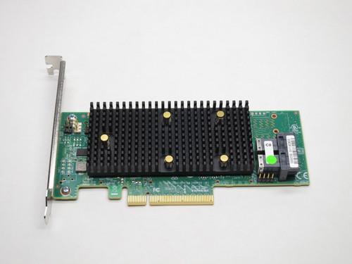 YW3J6 DELL 8-PORT SAS/SATA/NVME TRI-MODE PCIE 12Gb/s MR 9440-8I RAID CONTROLLER CARD W/BOTH BRACKETS