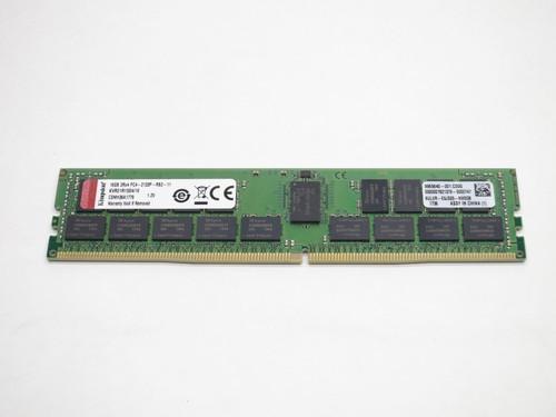 KVR21R15D4/16 KINGSTON 16GB DDR4 2133 RDIMM 2Rx4 CL15 PC4-17000 1.2V 288-PIN SDRAM MODULE