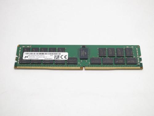 MTA36ASF4G72PZ-2G9J3 MICRON 32GB DDR4 2933 RDIMM ECC REG 2Rx4 PC4-23400 1.2V 288-PIN SERVER RAM