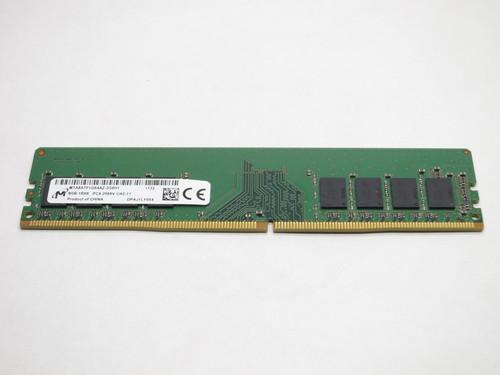 MICRON 8GB DDR4 2666 UDIMM 1Rx8 PC4-21300 288-PIN DESKTOP MODULE