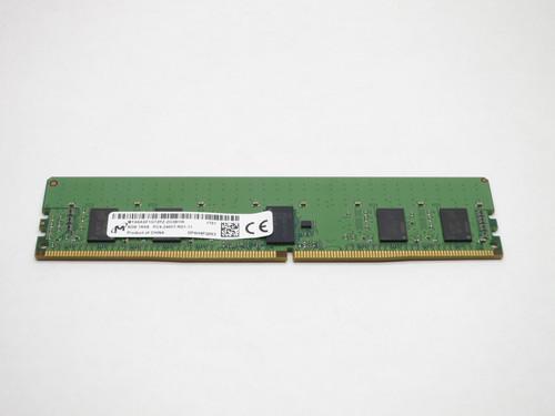 MTA9ASF1G72PZ-2G3B1 MICRON 8GB DDR4 2400 RDIMM 1Rx8 PC4-19200 SERVER MODULE