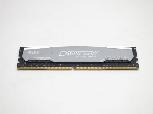 BLS8G4D240FSA CRUCIAL BALLISTIX SPORT 8GB DDR4 2400 UDIMM PC4-19200 288-PIN DESKTOP MODULE - GRAY