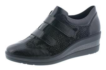 Remonte Velcro Wedge Shoe Black Remonter7207-02