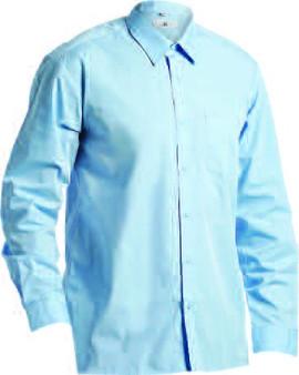 656 School Shirt Blue