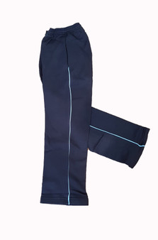T402 Track Pants Navy With Piping