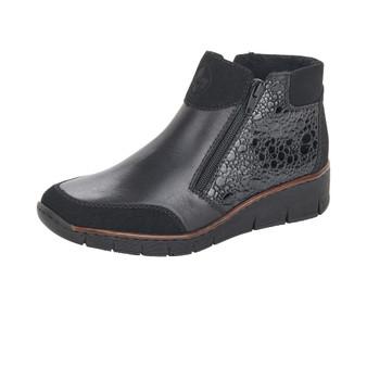 Rieker 53782-00 Black Boot