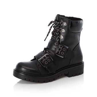 Rieker 91524-00 Biker Boot Black