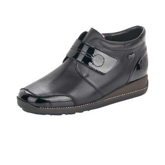 Rieker 44288-00 Velcro Boot Black