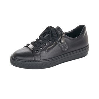 RIEKER L59L1-00 BLACK LACED