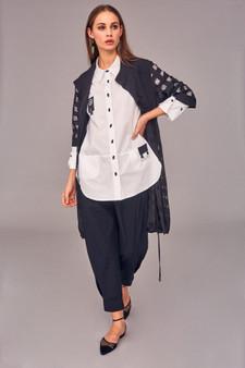 Naya NAS21137 Shirt with ring trim