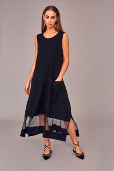 Naya NAS21185 Dress/print hempanel