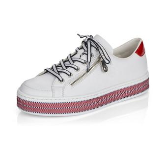 RIEKER L89C1-80 Flat laced casual shoe