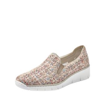 RIEKER 53766-61 Wedge slip on shoe