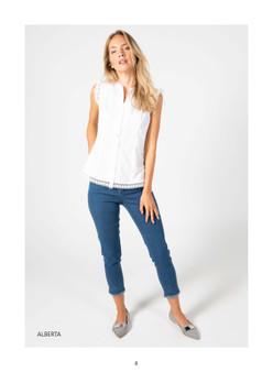 Tinta Alberta/2 White Shirt