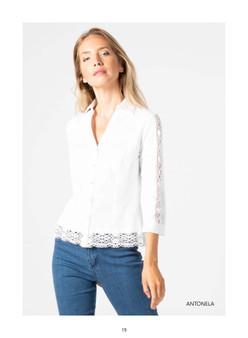 Tinta Antonela White Shirt