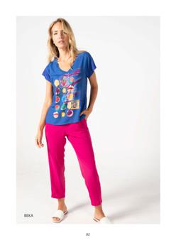 Tinta Beka Loose print t-shirt