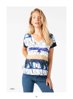 Tinta Ceres Wide Stripe print T-shirt