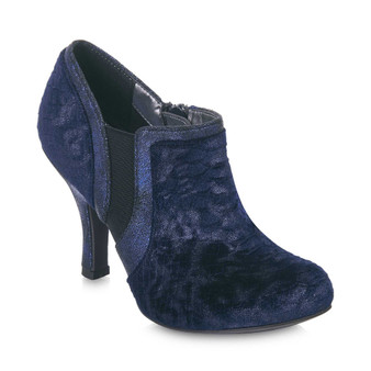 Ruby Shoo Heeled Shoe Boot Blue Juno Grey's of Templemore 35