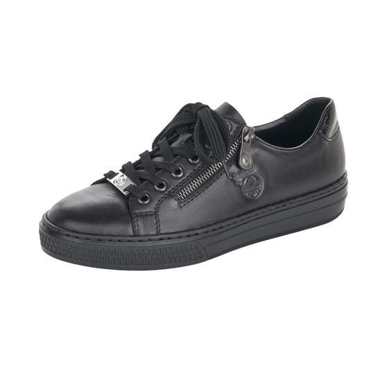 RIEKER L59L1-00 BLACK LACED