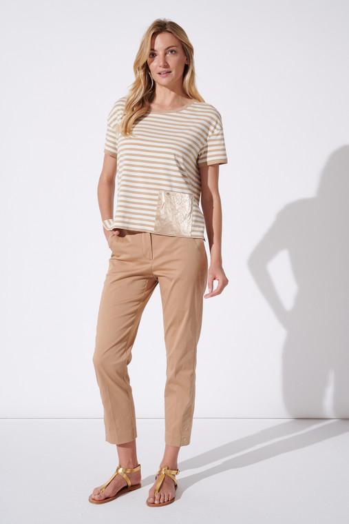Feria Fh38-3 23 Horizontal Stripe T-shirt