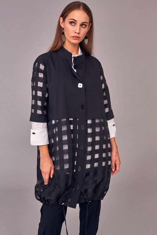 Naya NAS21142B Square pattern jacket only