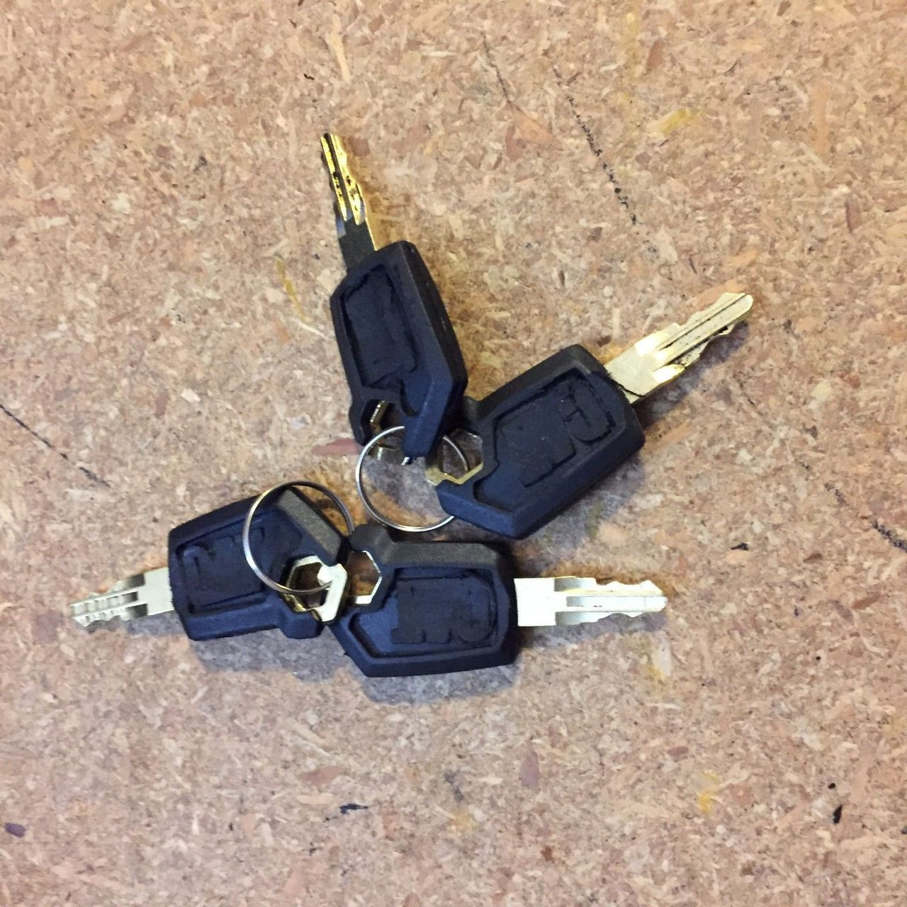 4PCS Heavy Equipment Ignition Loader Dozer Key  For Caterpillar 5P8500