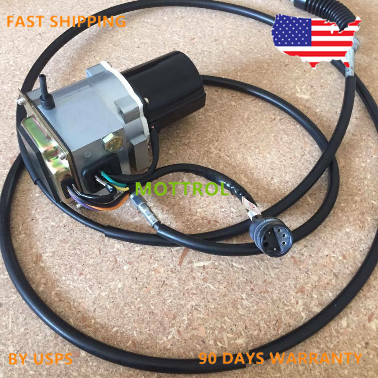 106-0100 1060100 Throttle Motor AS-GOVERNOR FITS 325L E320L,E325 CABLE 250CM