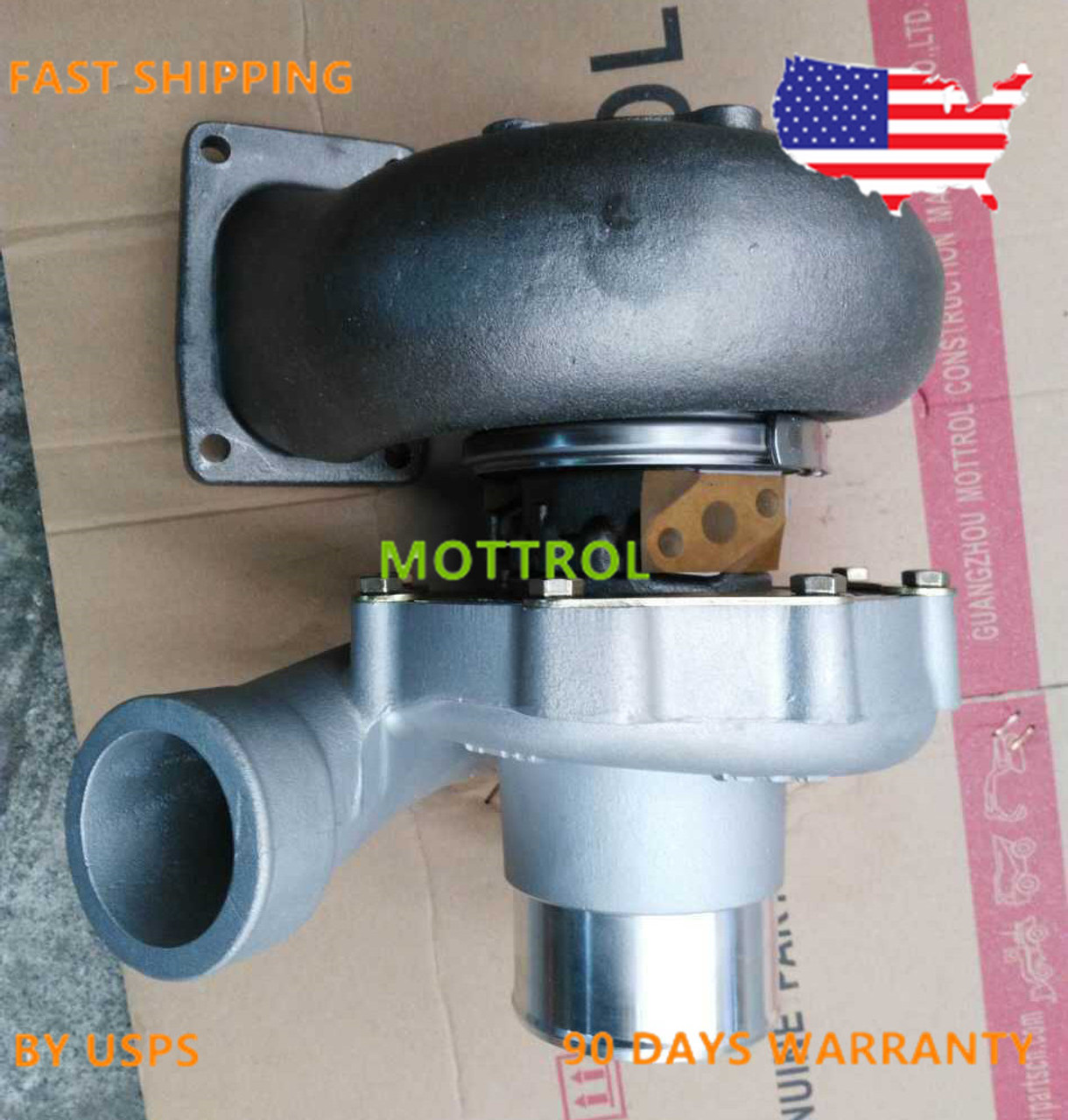 114400-2080, TA51 TURBOCHARGER FITS FOR HITACHI EX400 ISUZU 6RB1 ENGINE