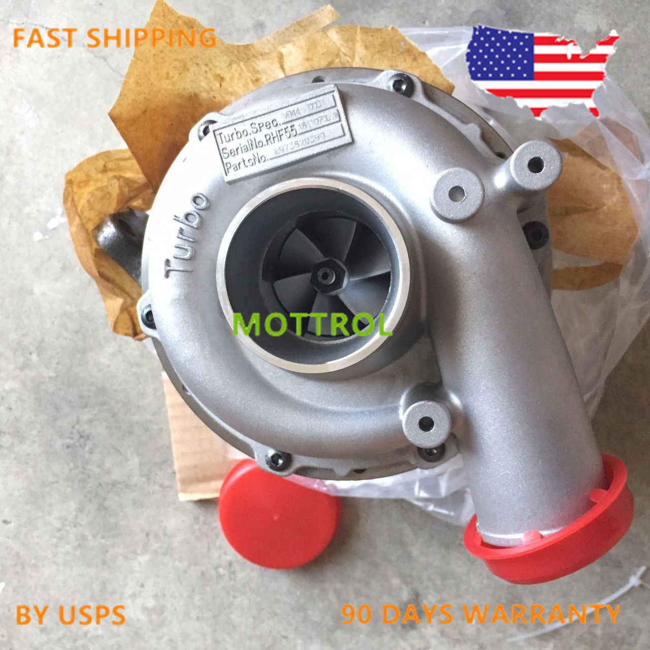 RHF55 8973628390 Turbocharger FITS FOR HITACHI ZAXIS200-3 ZAX210-3 ISUZU  4HK1