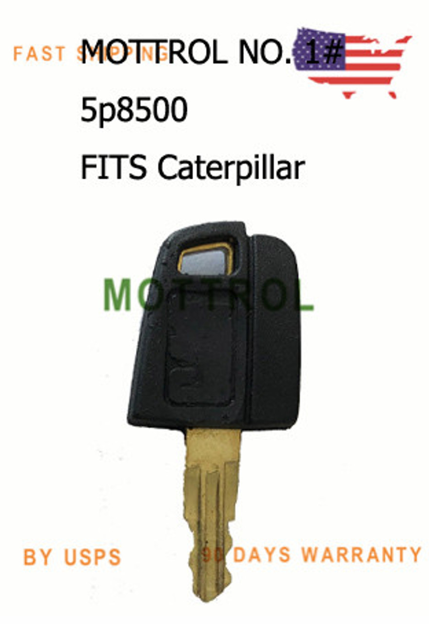 123243 Replacement Plant Key fits Caterpillar Forklifts