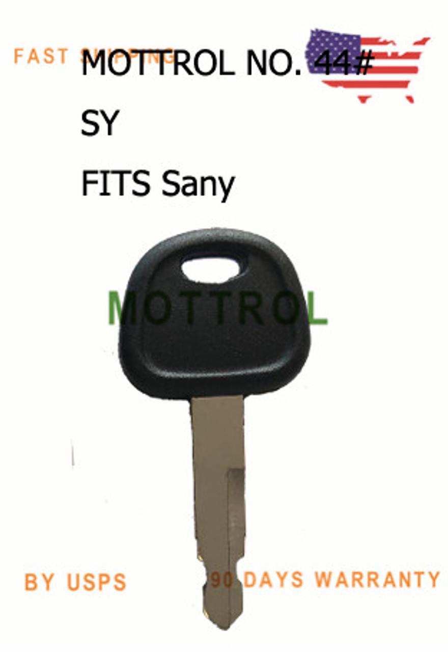 10pcs Excavator 777 14529178 Key for Excavator Grader Dozer Volvo