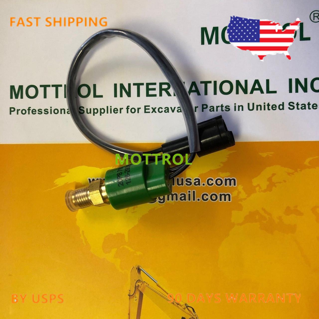 126-2938X03 1262938  Pressure Sensor FITS CAT E320B  E312C  E325B E330C E320C