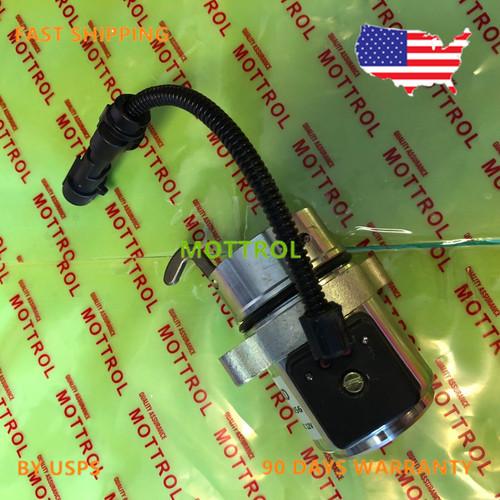 Bobcat Fuel Shut Off Solenoid A220 A300 S250 T200 Diesel Deutz Skid Steer Loader