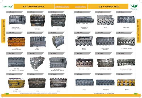CYL BLOCK - 1N3574 7N5454 for models CB-534, 3304, 3304, 3304B, SR4