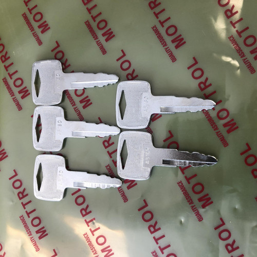 Ignition Key 91A07-01910 A5160 for Mitsubishi Caterpillar Forklift 5 PCS
