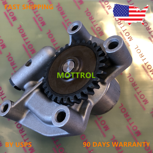 Oil Pump YM129900-32001 for Komatsu PC75R-2 PC80MR-3 PW75R-2 Engine 4TNV98 4D98E